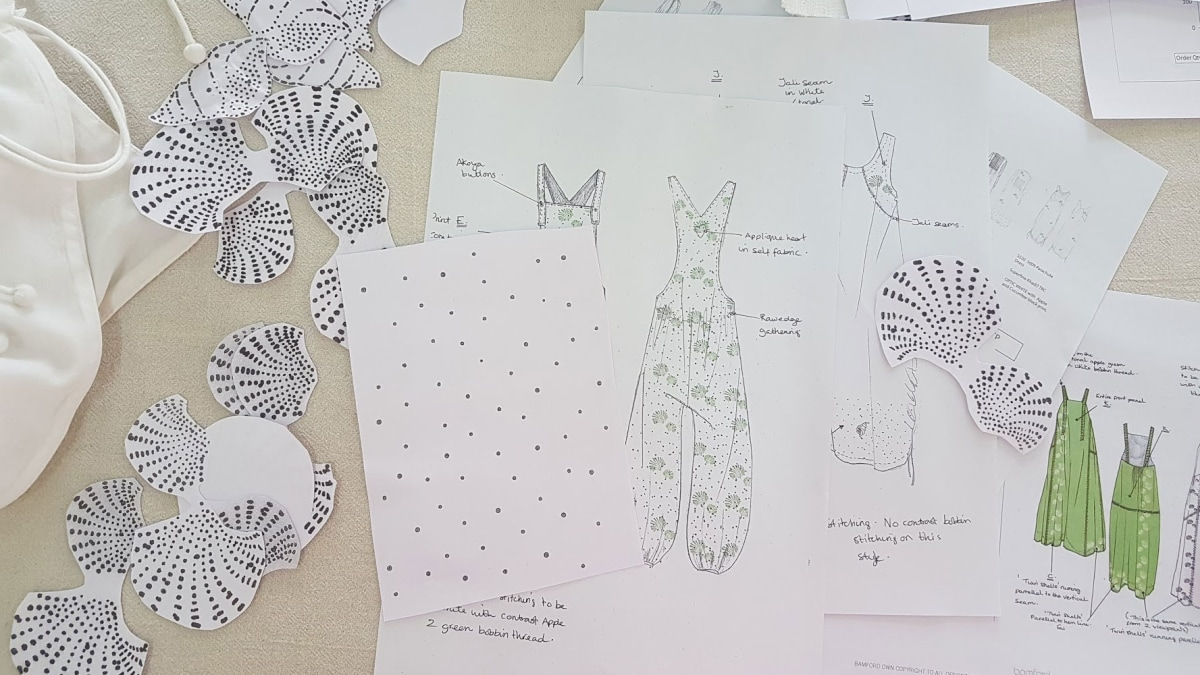 Design development for our Reef Dungaree