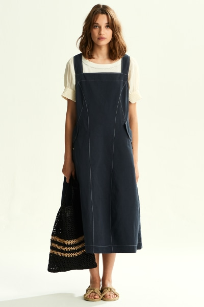 Kiera Pinafore Dress