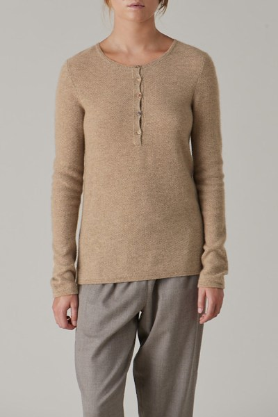 Lounge Henley Sweater