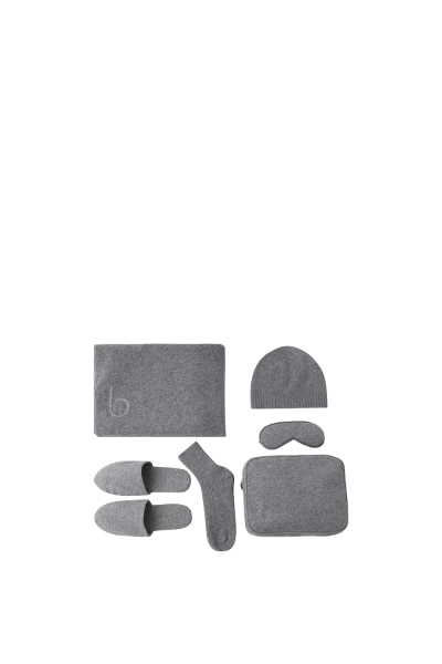 The Hepburn Cashmere Travel Set