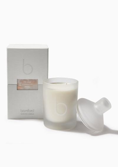 Fig Leaf Double Wick Candle