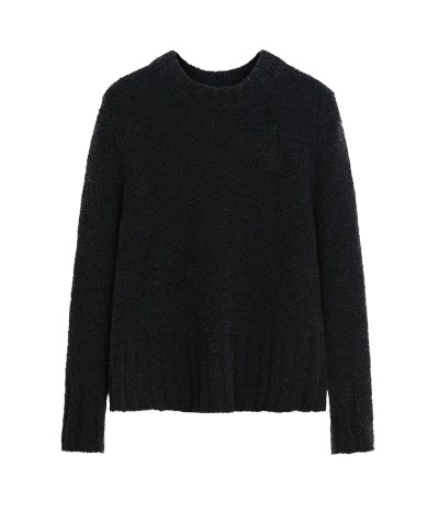 BOUCLE KNIT Sweater