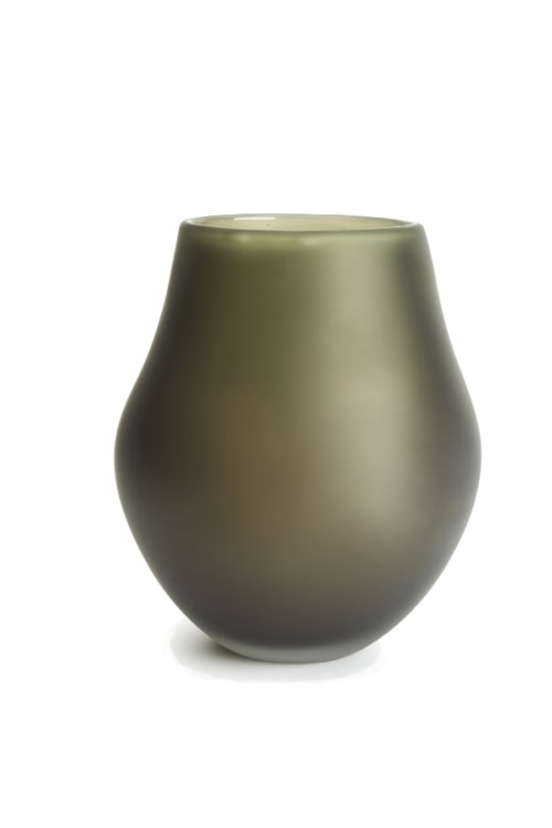 Evergreen Sculptural Vase