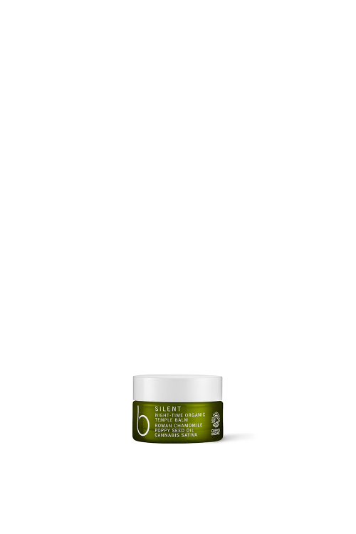 B Silent Night-Time Organic Temple Balm