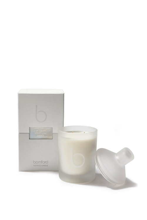 Lily Of The Valley Double Wick Candle