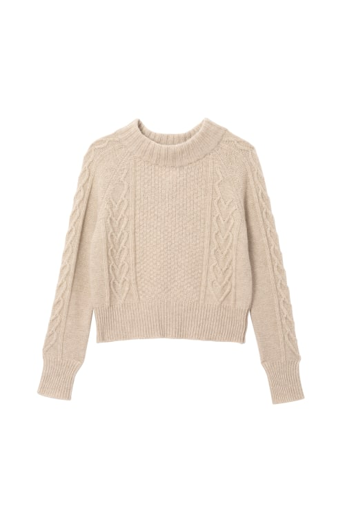 Cosy Cable Sweater