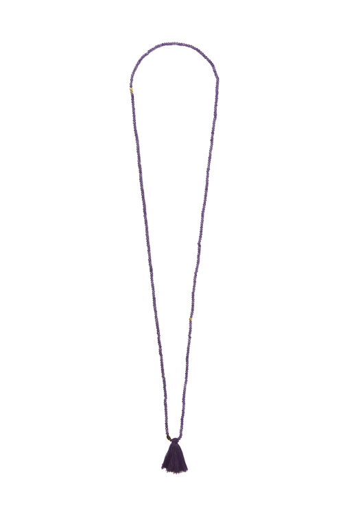 AMETHYST CHAKRA NECKLACE