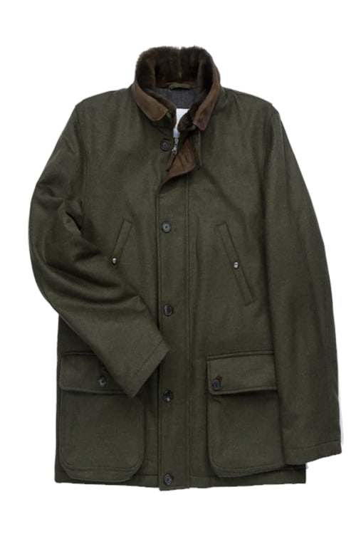 Mens Trapper Jacket