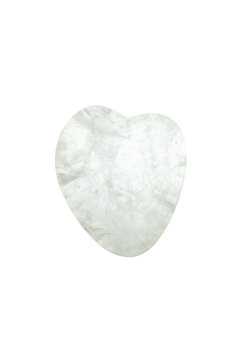 Clear Quartz Crystal Chakra Heart