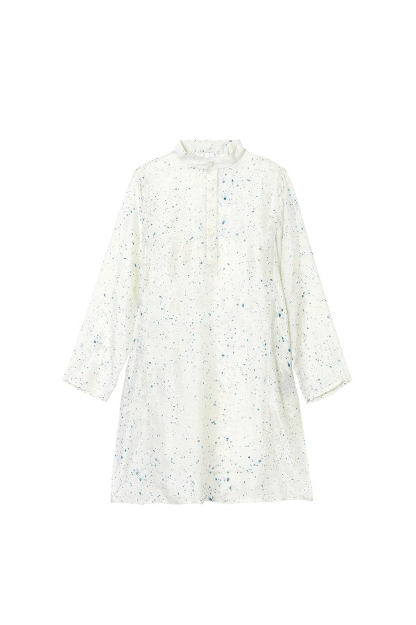 Milky Way Silk Pyjama Top