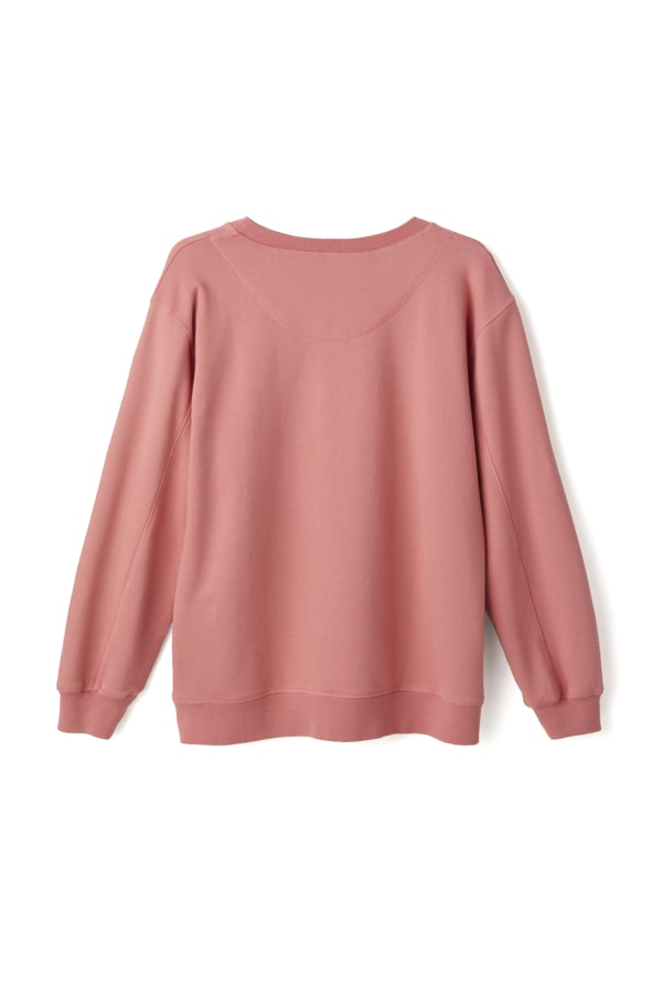 Bamford | Sweatshirt Top Pink