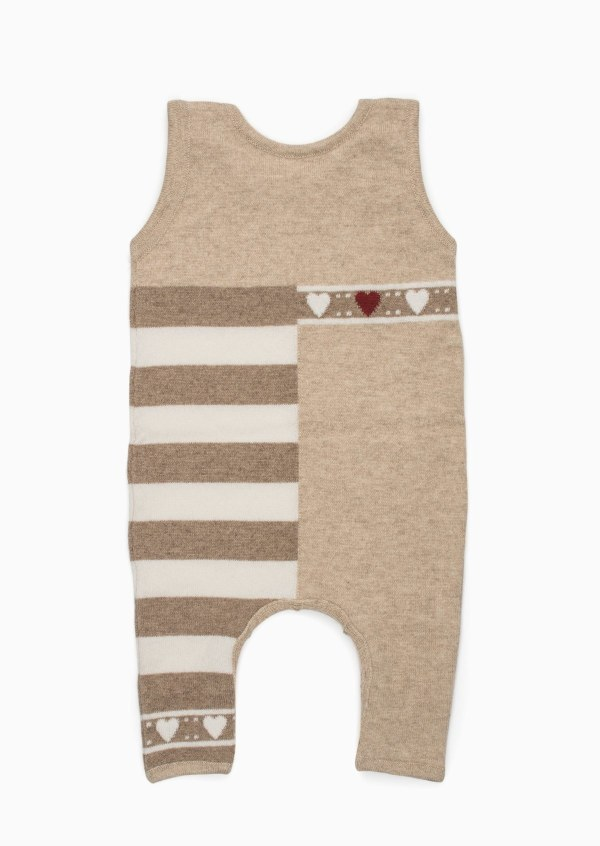 Baby Heart Onesie Back