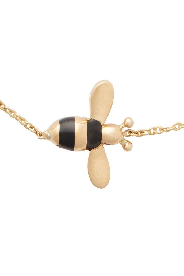BEE-AND-HEXAGON--BRACELET-1