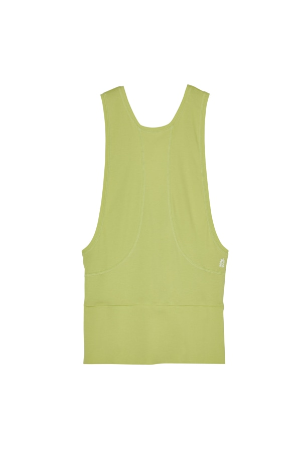 BREATHE-VEST-LIME FRONT