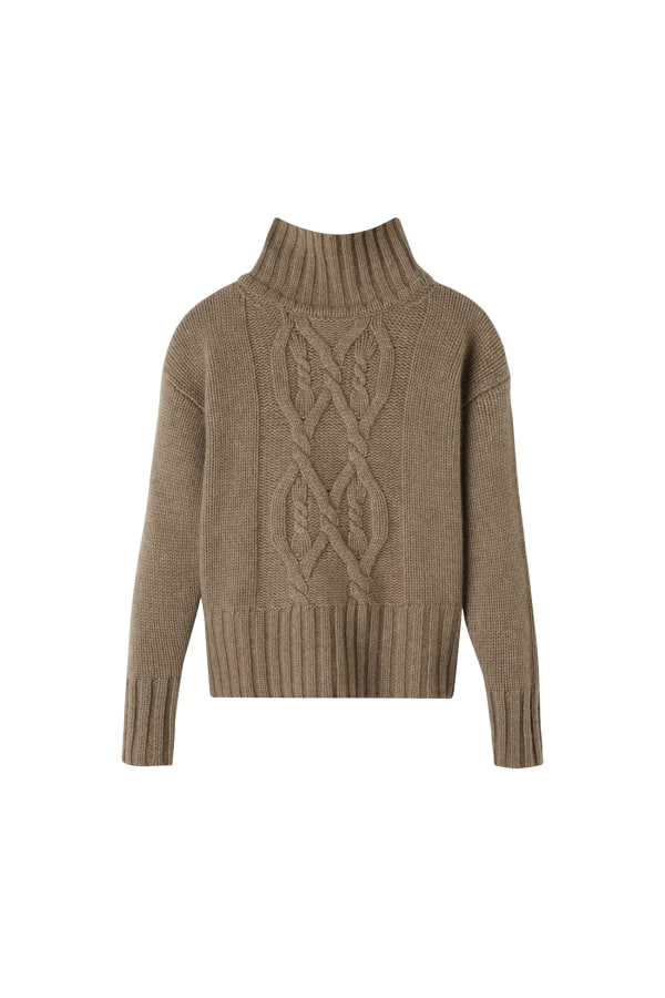 Woodland Knit Sweater front