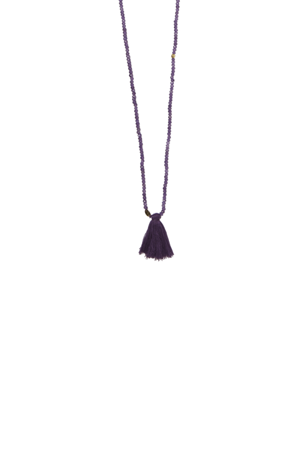 Bamford | Shakra Necklace Purple Amethyst
