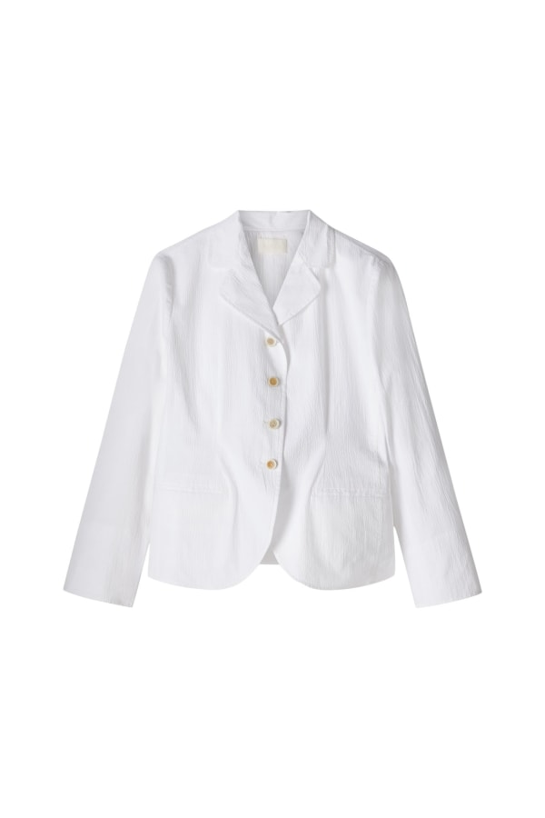SS20-5046 BOATING-BLAZER OPTIC-WHITE Front