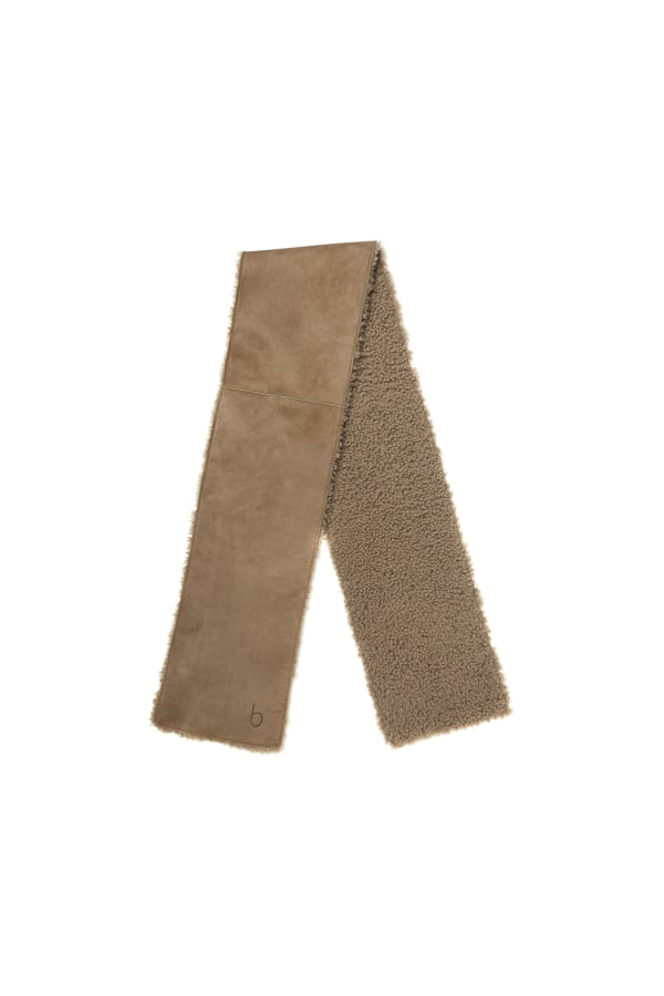 Bamford | Cosy Scarf Brown Suede