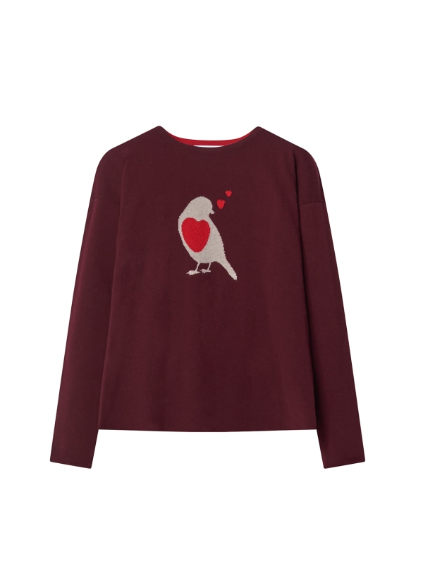 womens christmas jumper front
