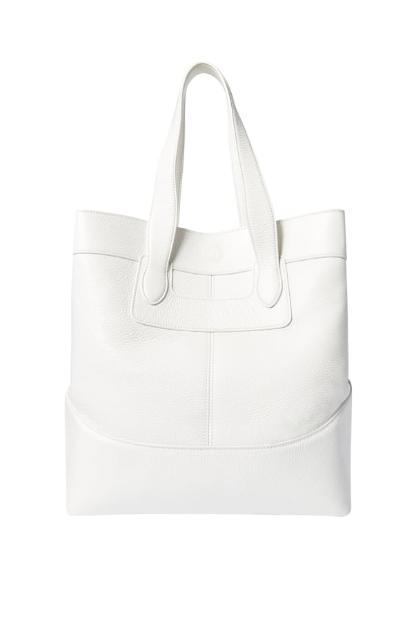KINGHAM SHOPPER WHITE