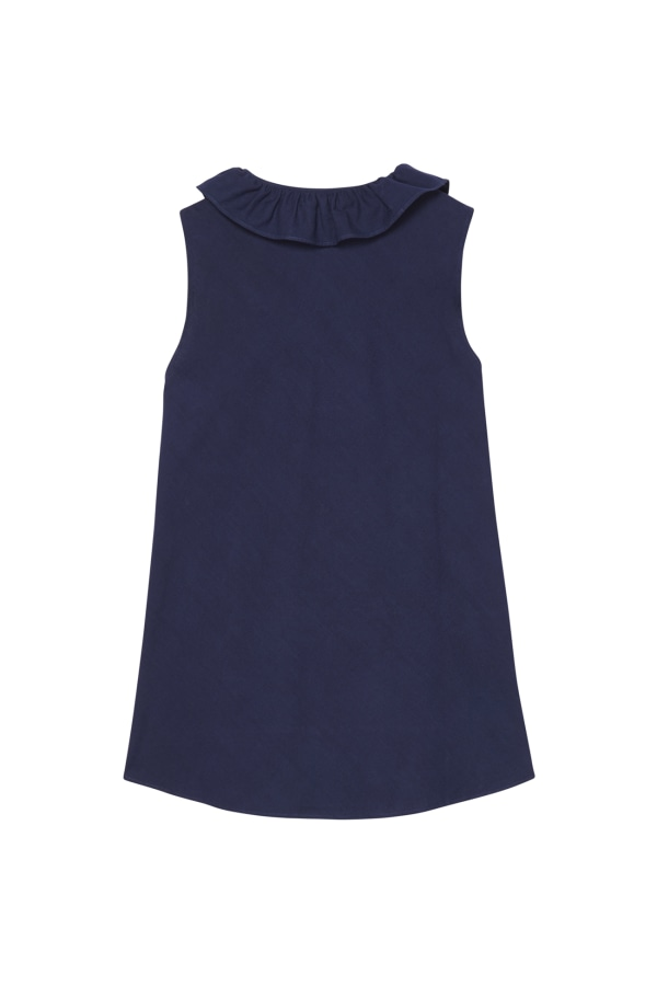 Bamford | Bloom Top Navy Blue
