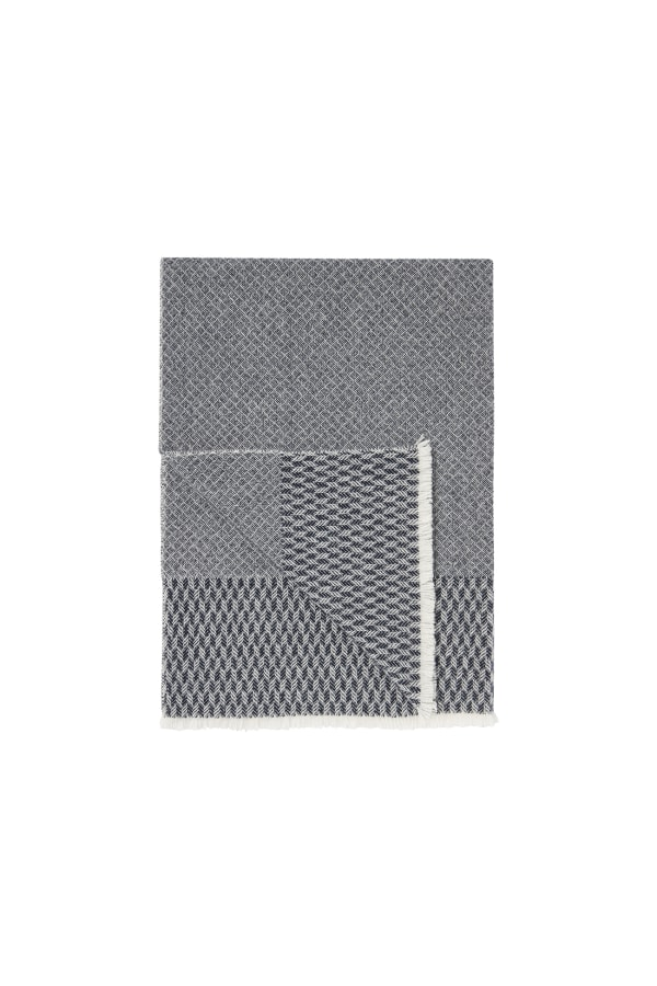 Bamford | Snowfall Wrap Grey