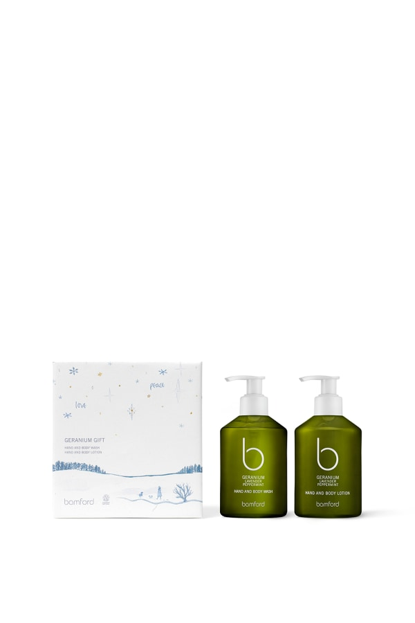 Geranium Christmas Hand and Body Gift Set