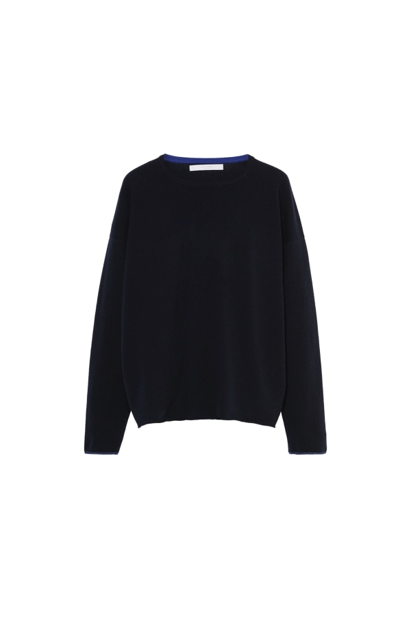 Bumble Bee Knit Navy Front web