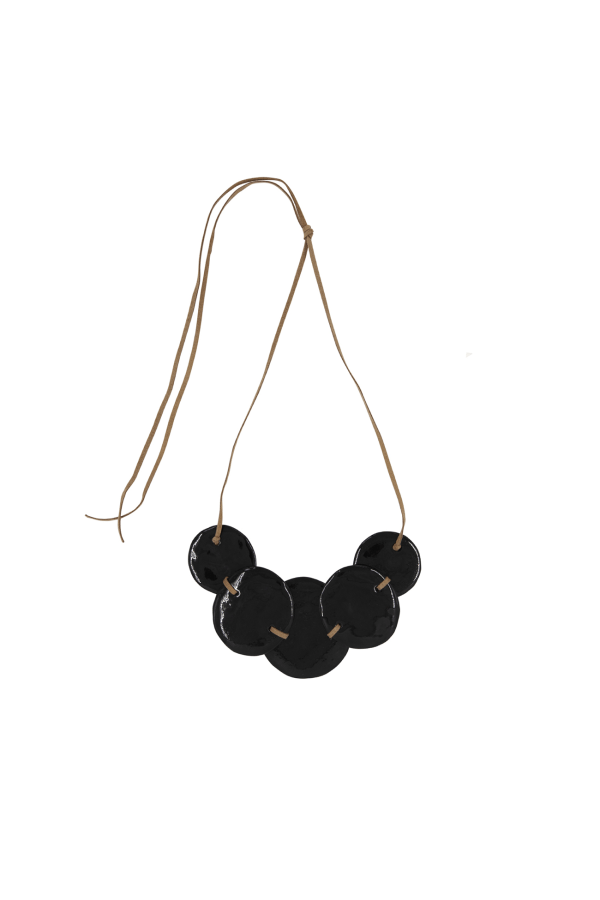 Bamford | Disc Necklace Black