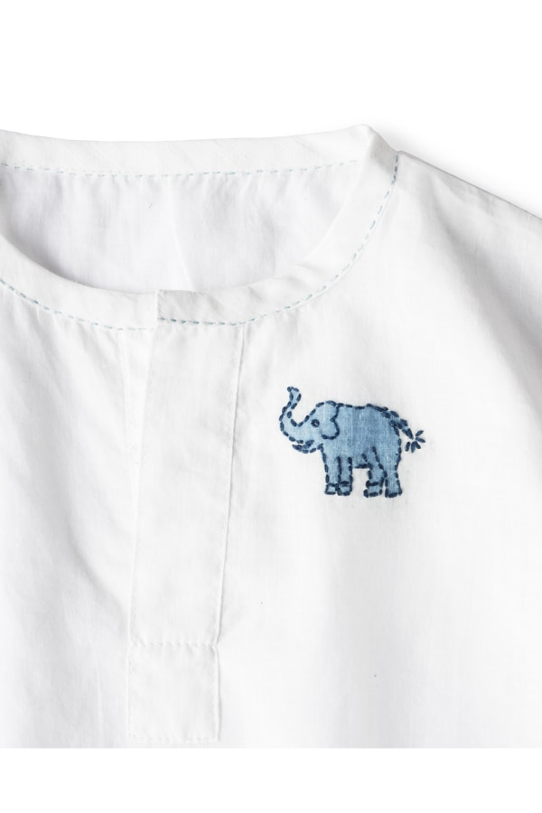 Bamford | Elephant Bloomer and Sleep Shirt