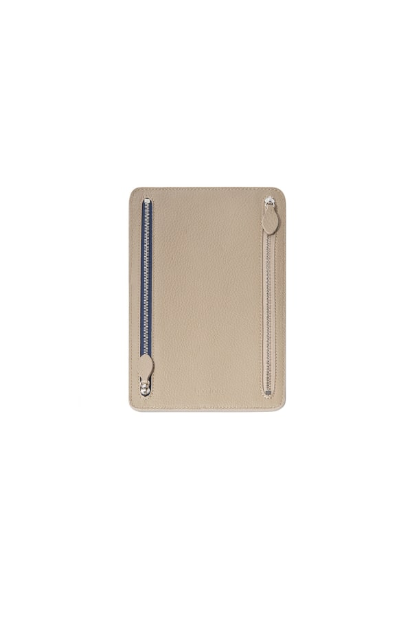 Bamford | Travel Wallet Taupe