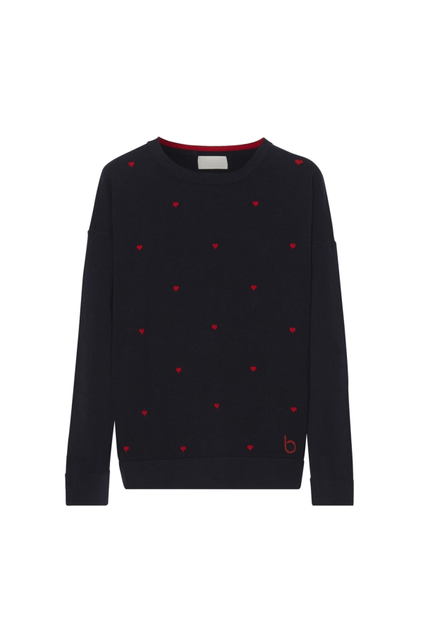 HEARTS SWEATER front
