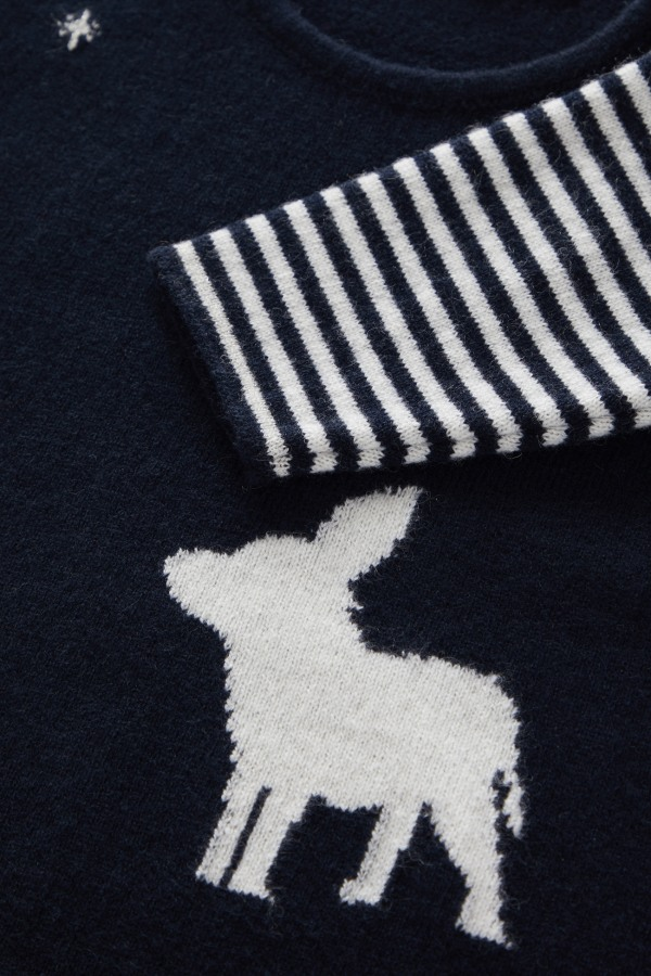 baby-sweater detail