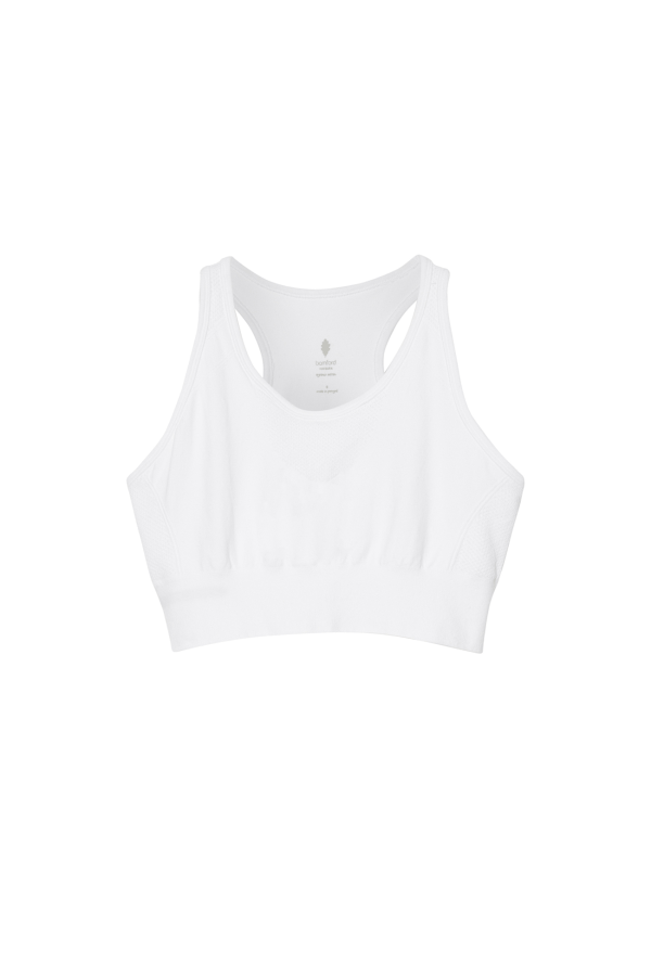 Cropped Top | White | Bamford