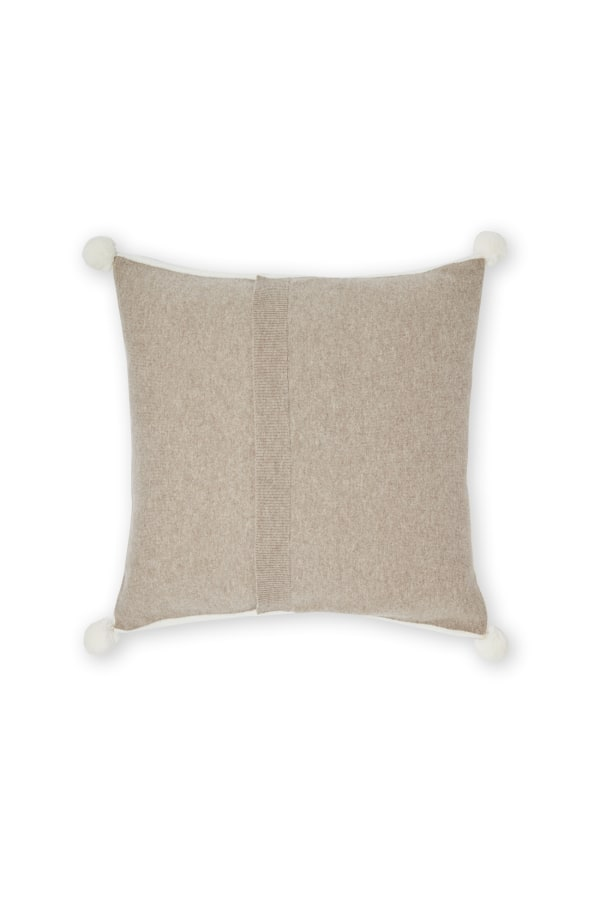 MULTI POM POM CUSHION HOMX 1