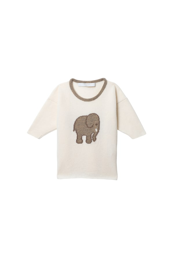 Elephant Baby Sweater
