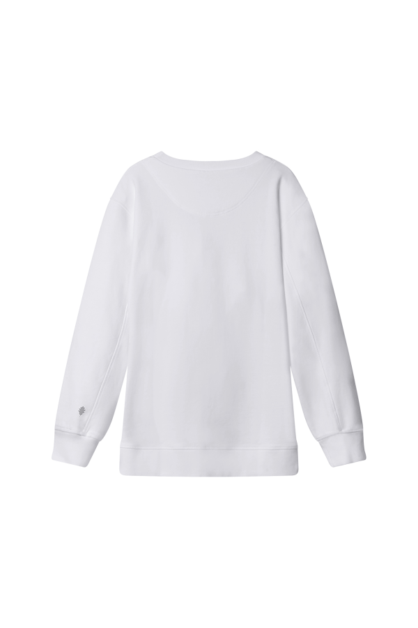 Bamford | Sweatshirt Top White