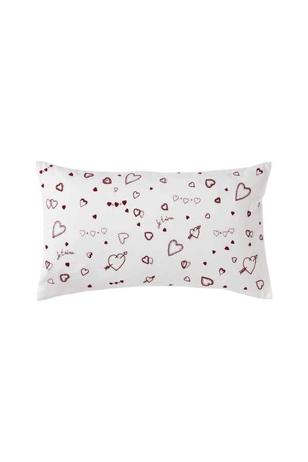 Hearts-sleep-pillow front