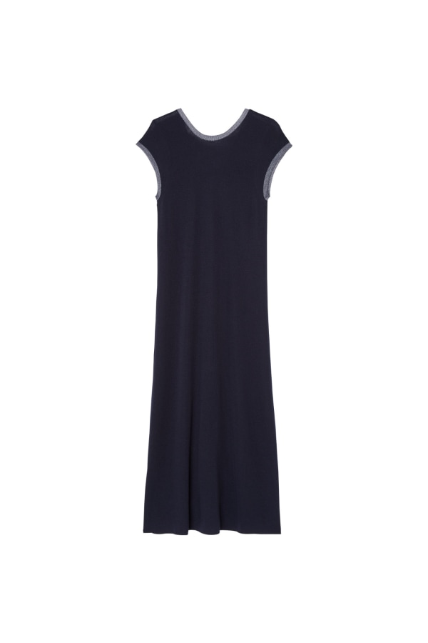 HALCYON-DRESS-NAVY back