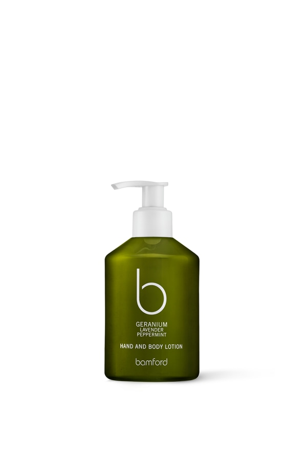 Bamford Geranium HandBodyLotion WEB-ONLY