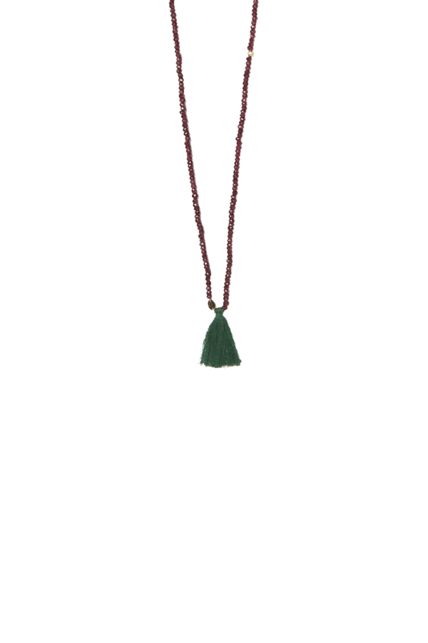 Bamford | Chakra Necklace Ruby Red