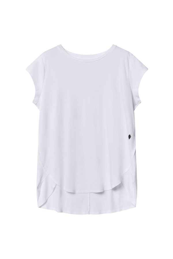 Bamford | Drape Tee Top White