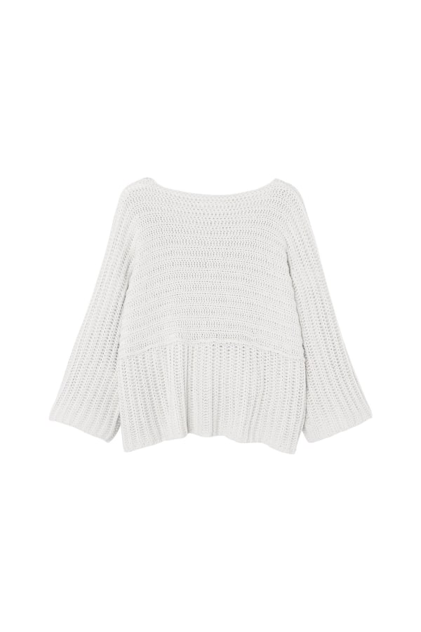 Driftwood Knit | Optic White | Bamford