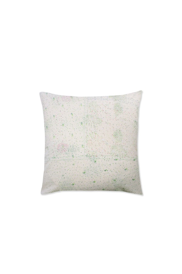 Block-printed zero-waste cushion 45x45 back web-ready