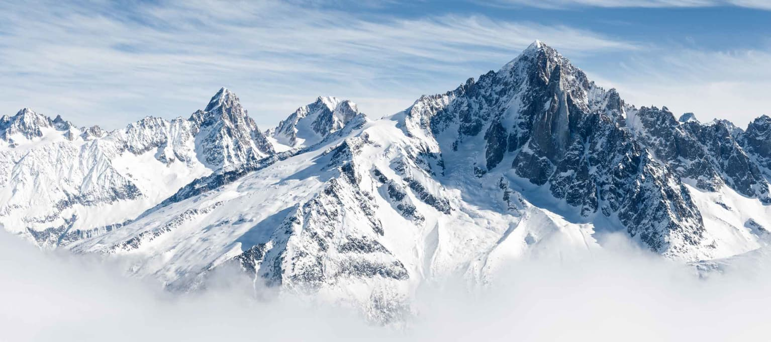 Photo of Mountains with Snow
