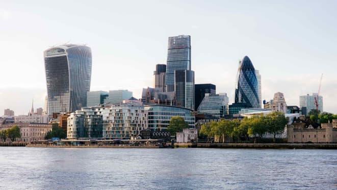 London office - London cityscape