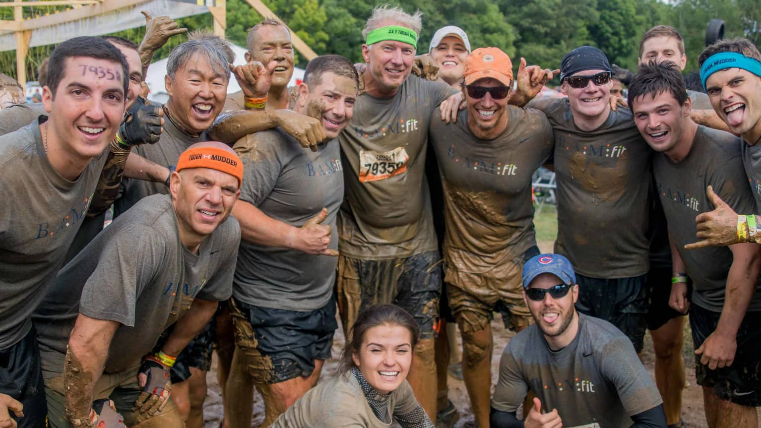 BAM Employees take on a Tough Mudder