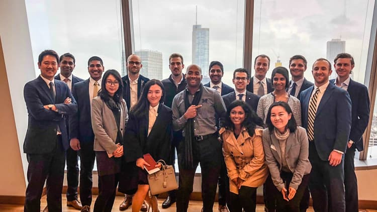 <p>Business Development hosts a number of campus events bringing future talent into our offices to learn firsthand about the industry.</p>