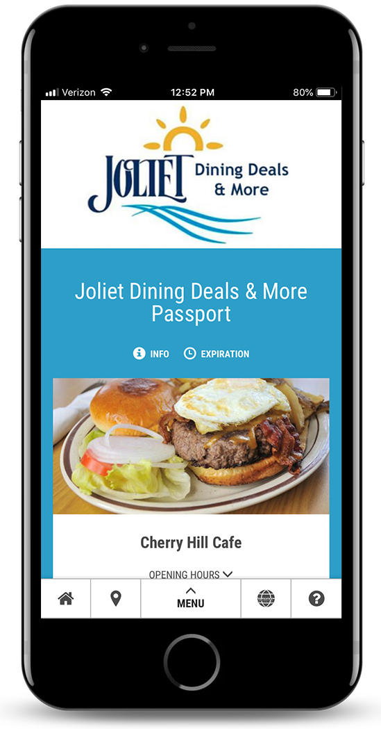 Joliet Dining Deals & More Passport