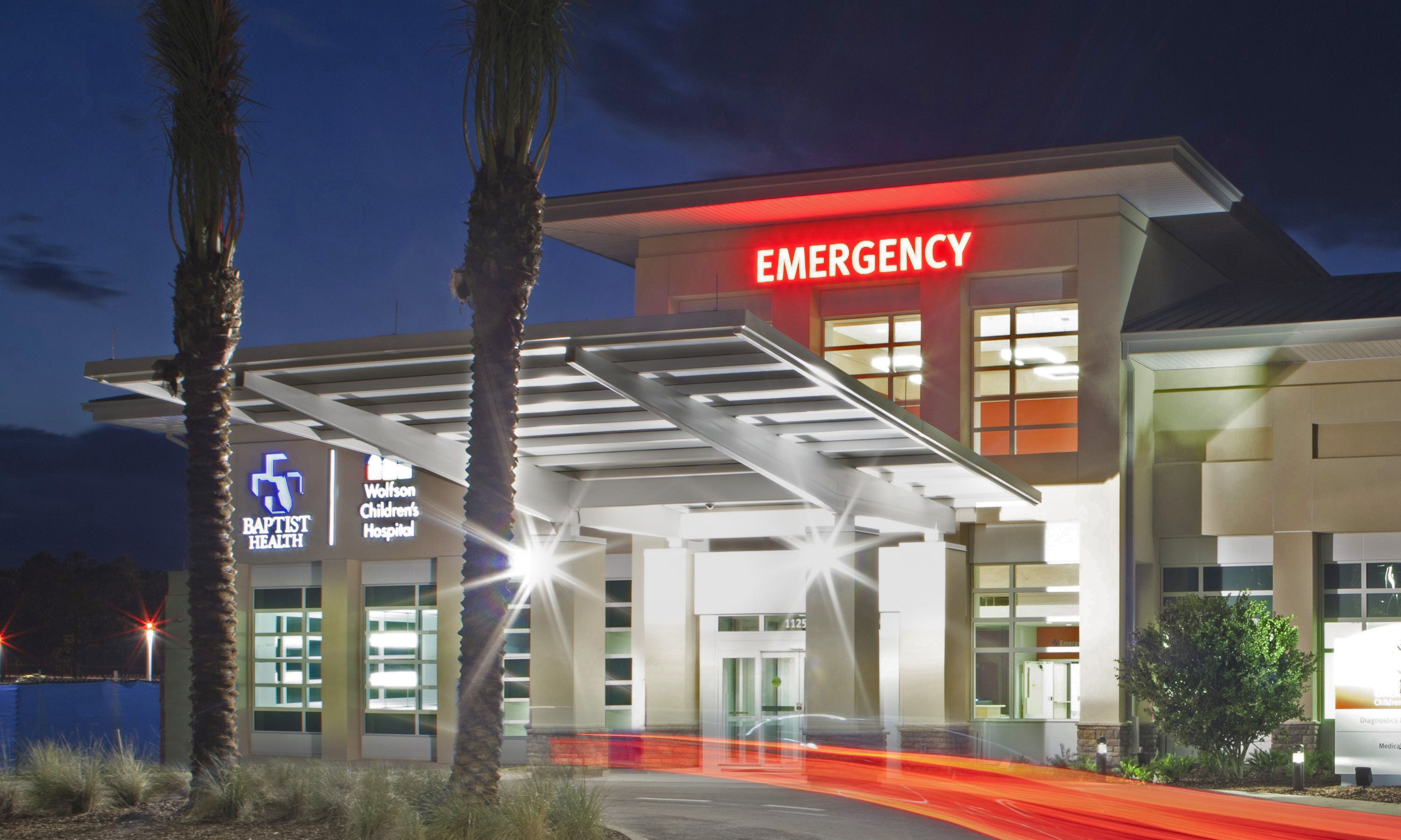 Wolfson Children's Hospital Emergency Locations
